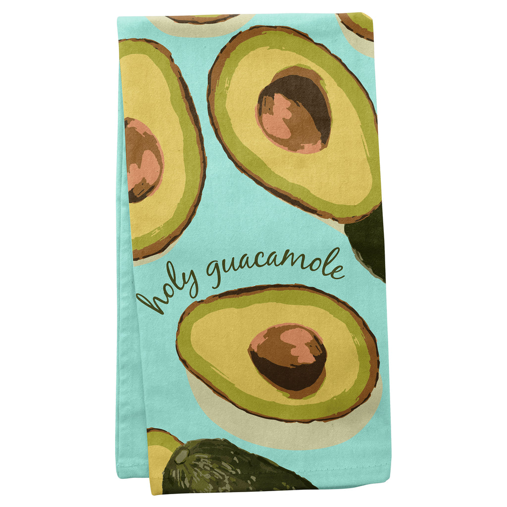TEA TOWELS AVOCADO (S19)