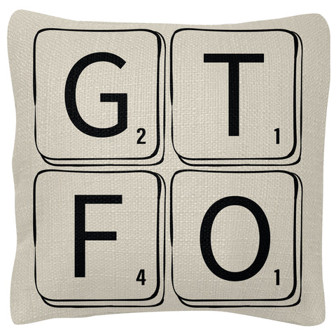 SQUARE PILLOWS GTFO (S19)