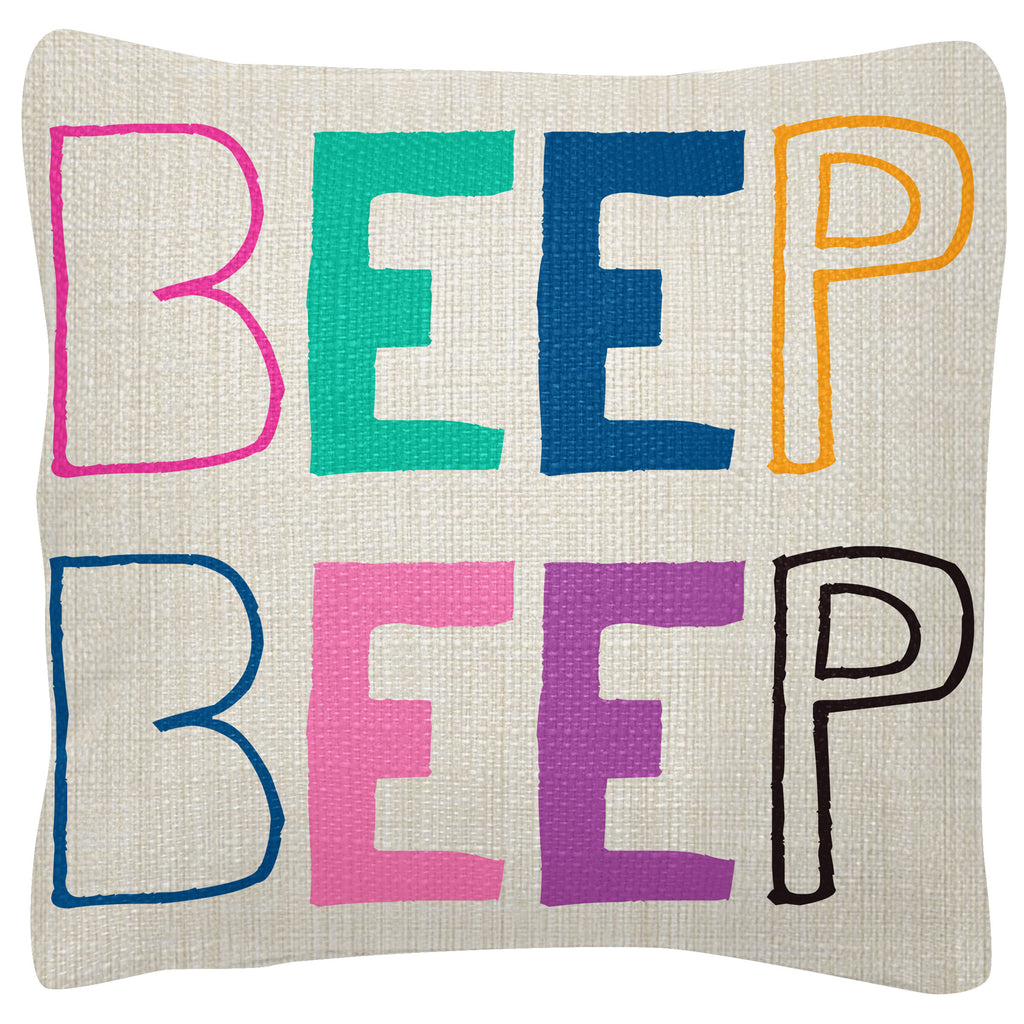 SQUARE PILLOWS BEEP BEEP(S19)