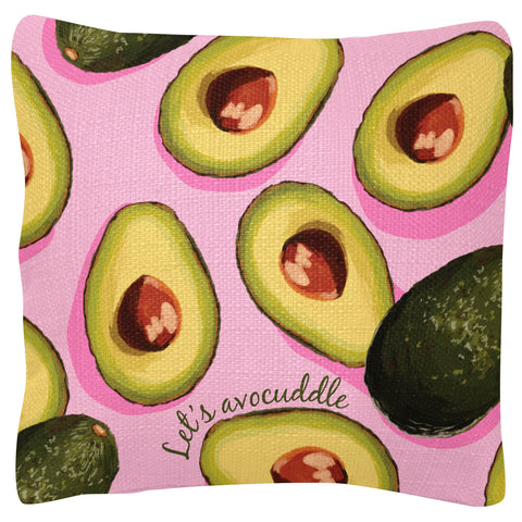 SQUARE PILLOWS AVOCADO (S19)