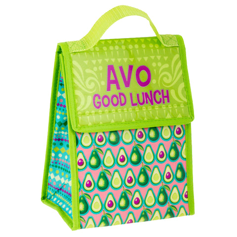 LUNCH SACK AVOCADO (S19)