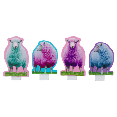 SHAPED CHIP CLIP SHEEP (F19)