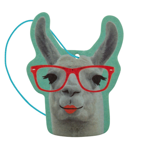 SHAPED AIR FRESHENER LLAMA VANILLA (F19)