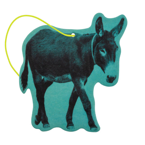 SHAPED AIR FRESHENER DONKEY NEW CAR (F19)