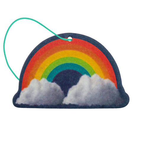SHAPED AIR FRESHENER RAINBOW COCONUT (F19)