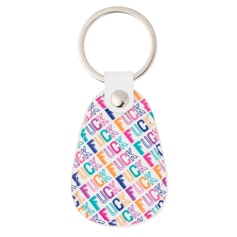 RETRO KEY CHAIN F*CK (F19)