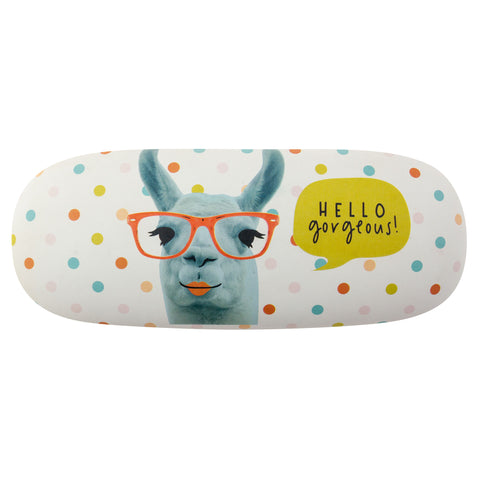 HARD GLASSES CASE LLAMA (F19)