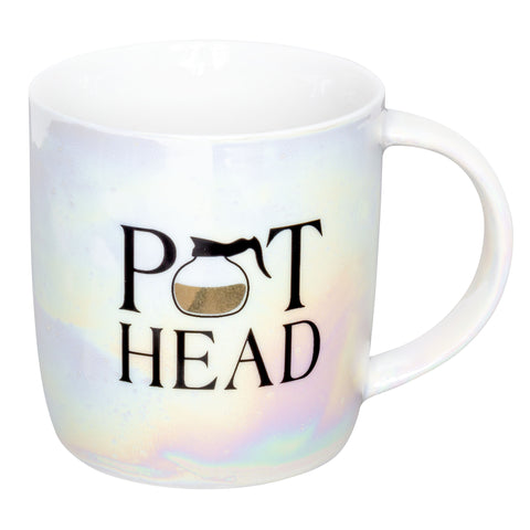IRIDESCENT MUG POT HEAD (F19)