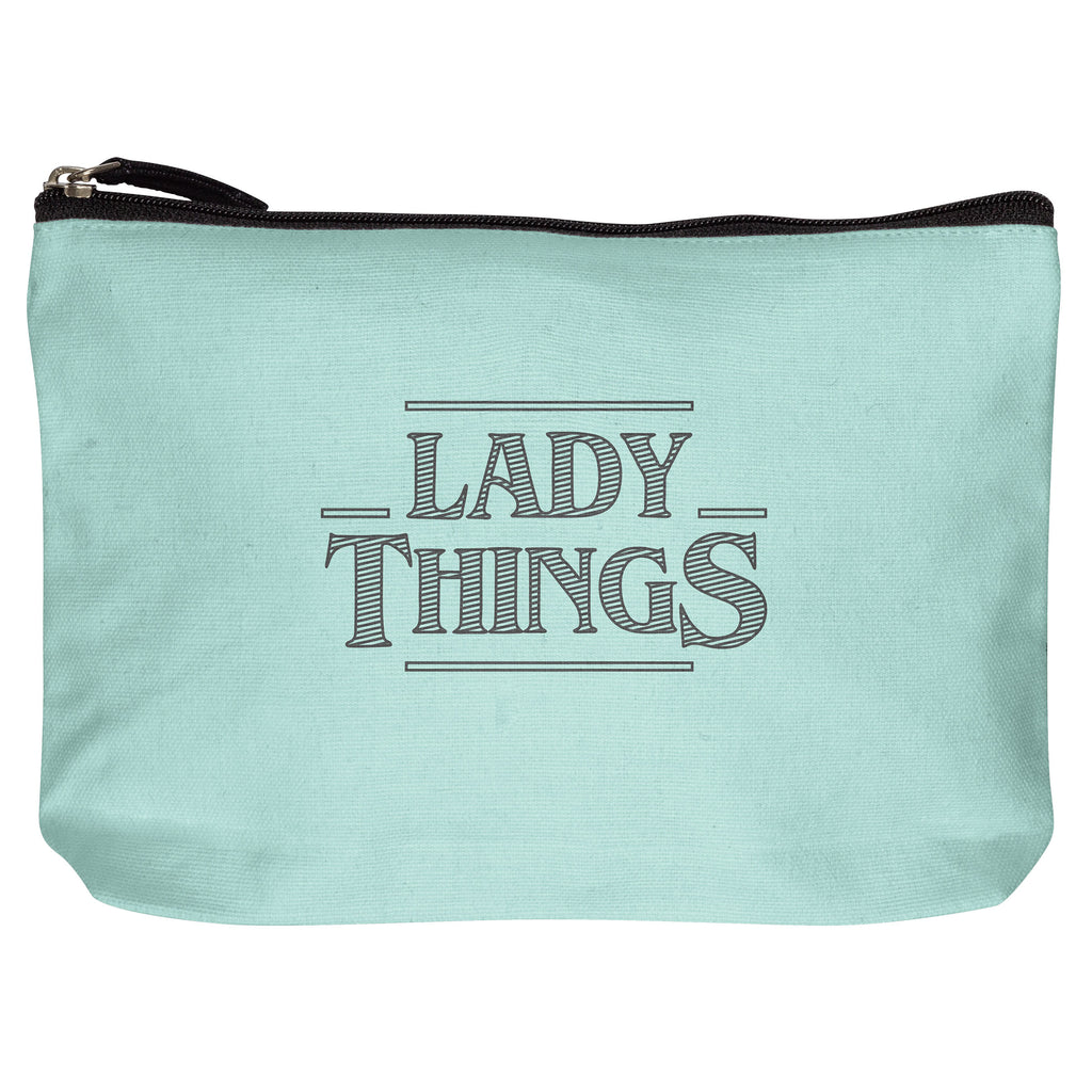COTTON MAKEUP BAG LADY THINGS (F19)