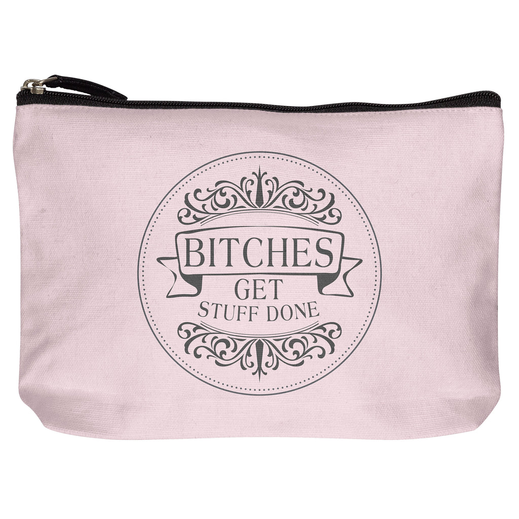 COTTON MAKEUP BAG BITCHES (F19)