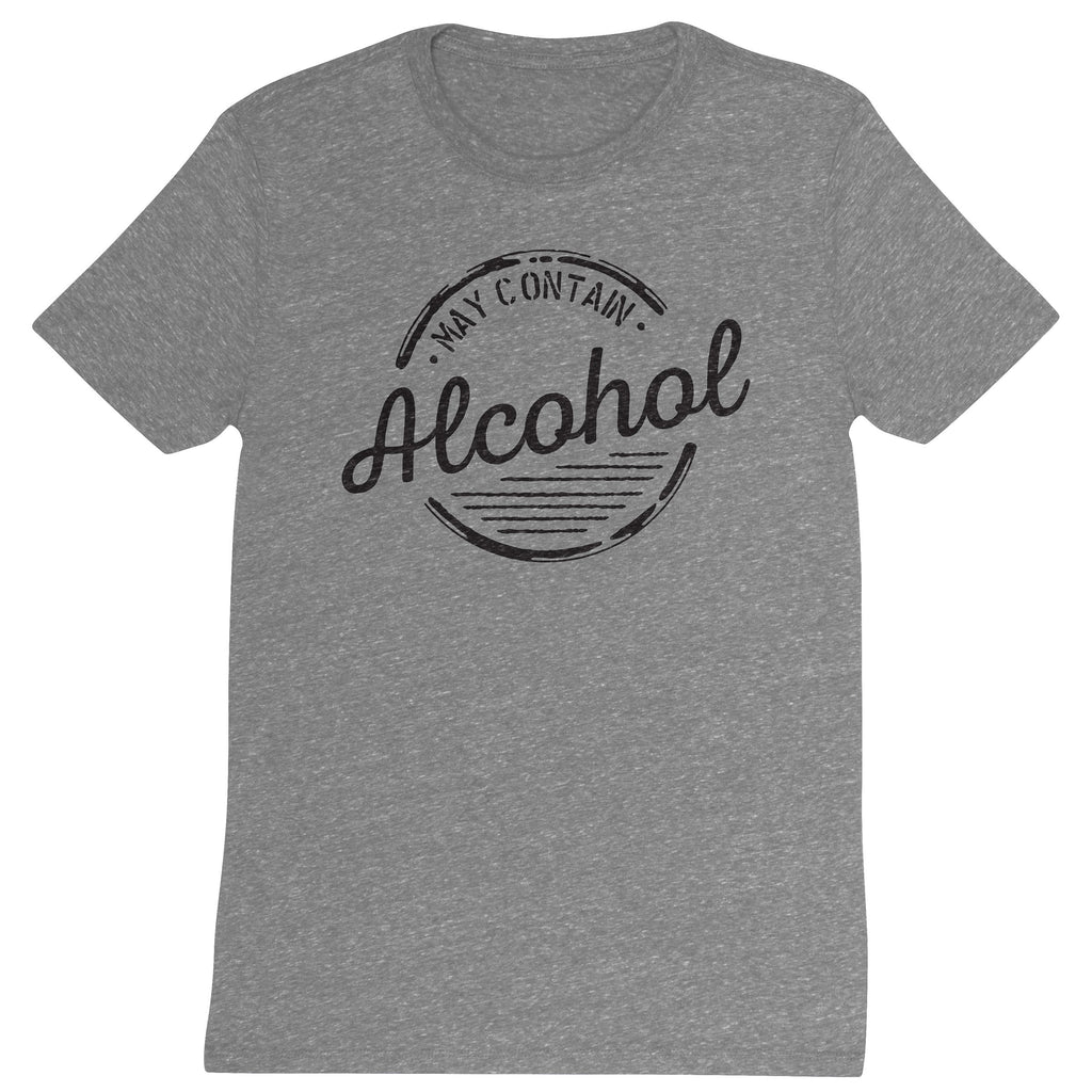 DISTRESSED T SHIRT ALCOHOL (F19)