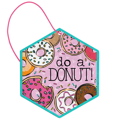 AIR FRESHENER DONUT VANILLA (OCT18)