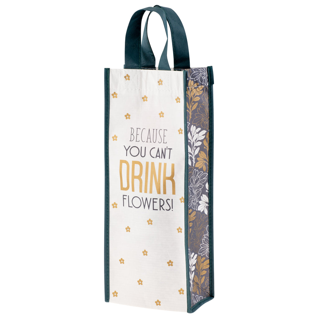 RECYCLED WINE BAG FLOWER (S20)