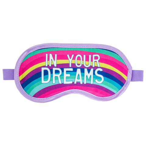 SLEEP MASK RAINBOW UNICORN (OCT18)
