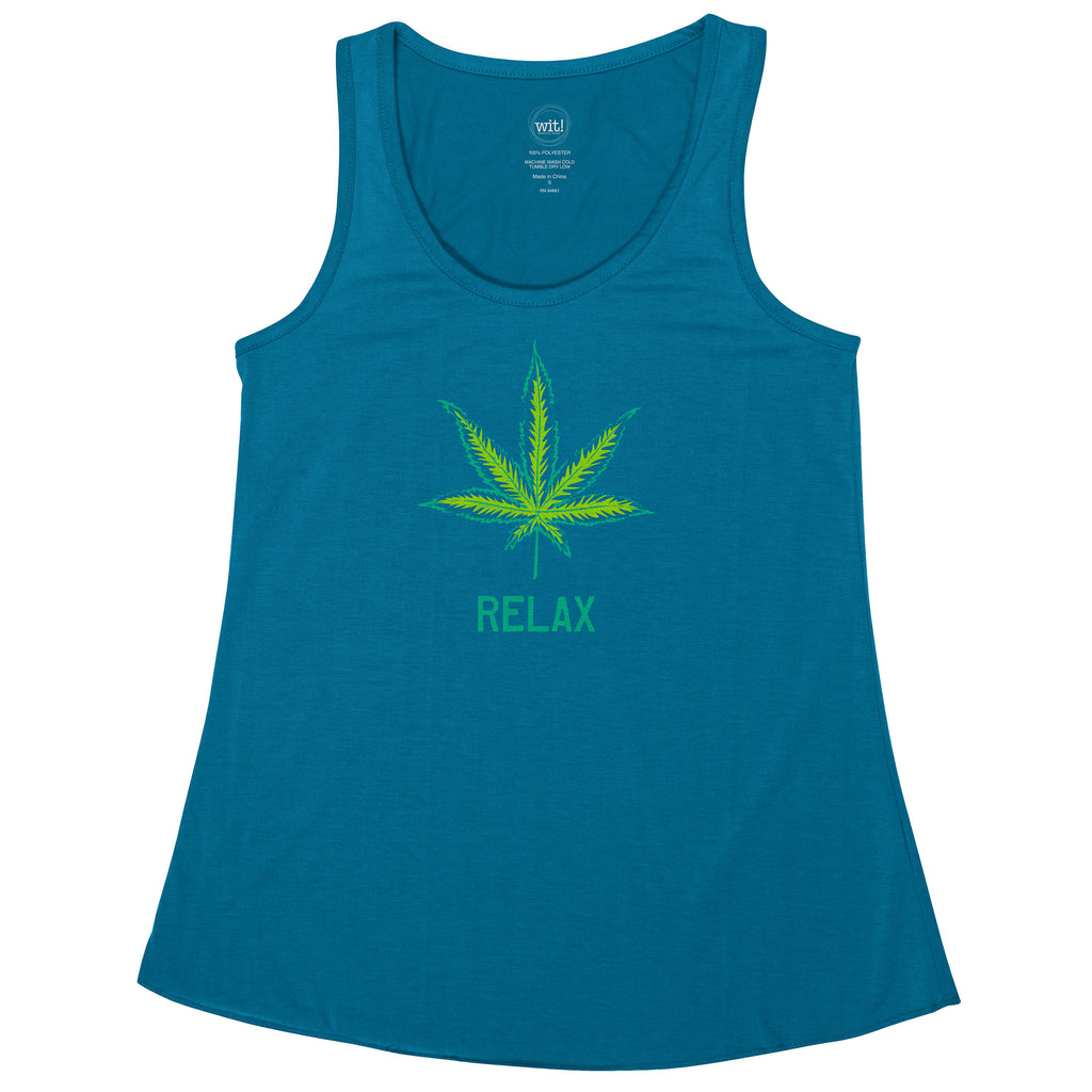 TANK TOPS WEED (S19)