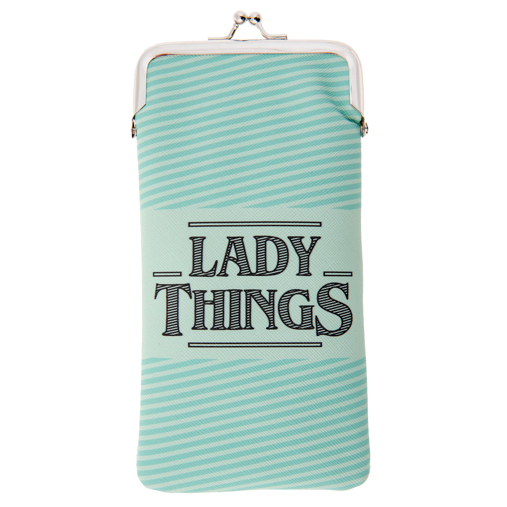KISS LOCK COIN PURSE LADY THINGS  (S20)