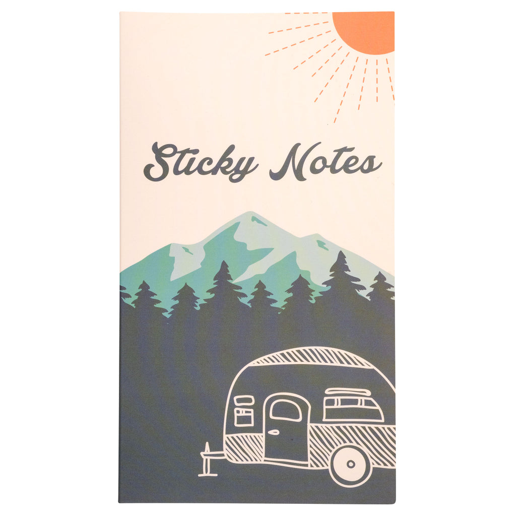 STICKY NOTE BOOKLET CAMPER (S20)