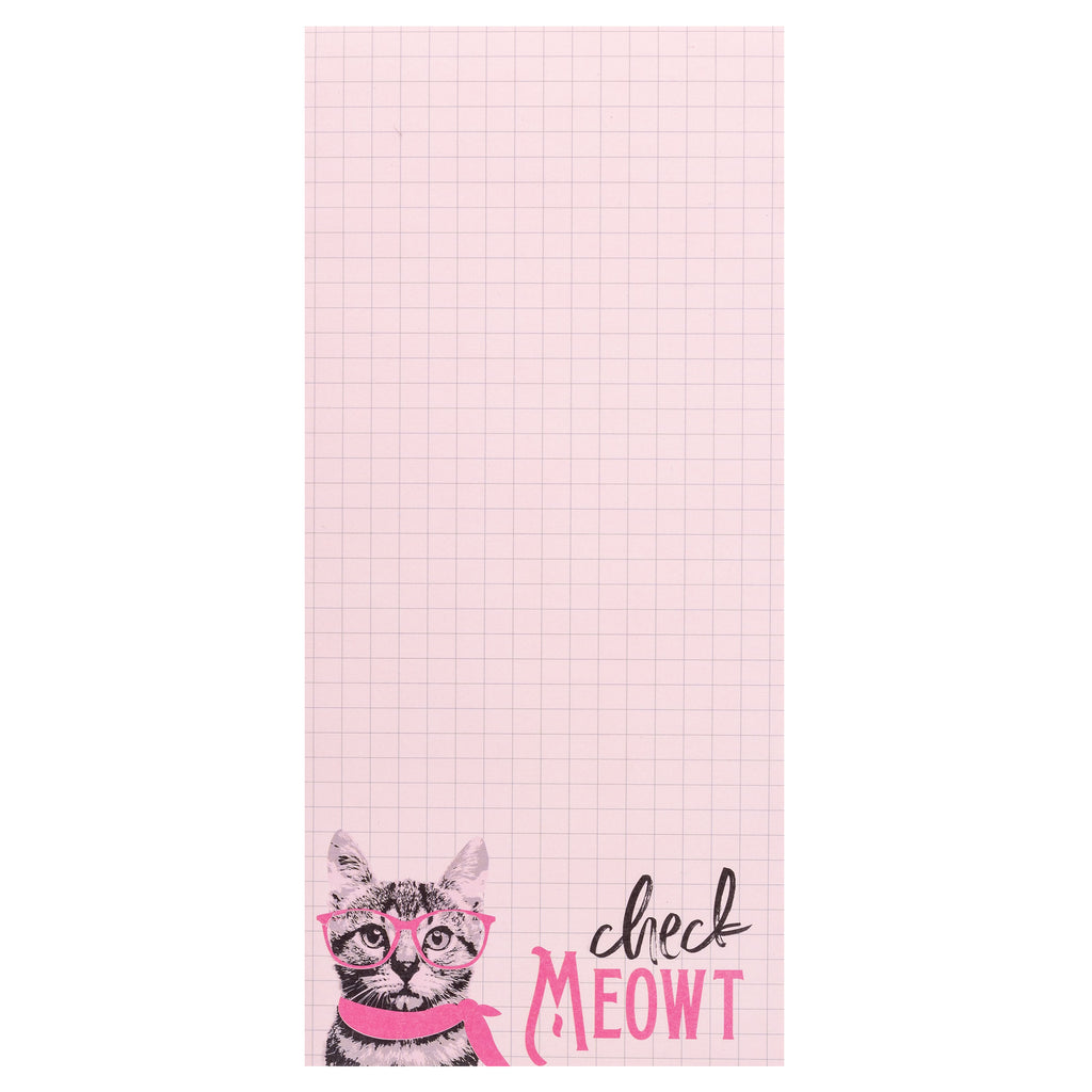 MAGNETIC NOTEPAD CAT (S20)