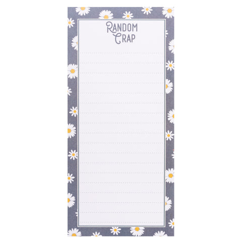MAGNETIC NOTEPAD RANDOM CRAP (S20)