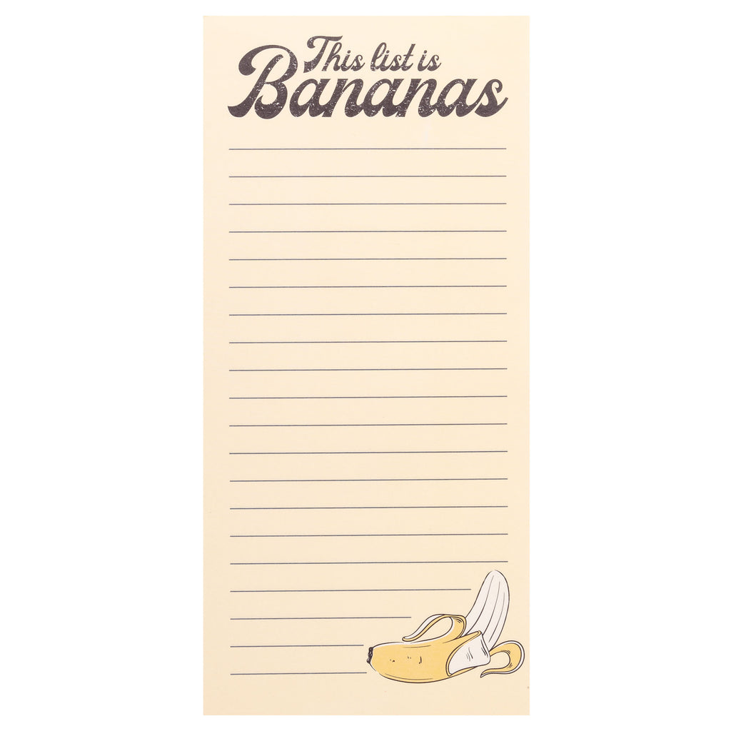 MAGNETIC NOTEPAD BANANA (S20)