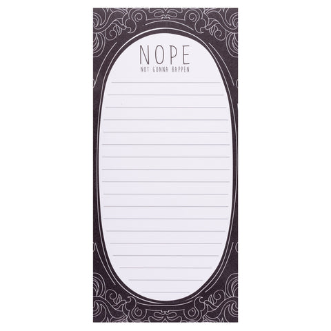 MAGNETIC NOTEPAD NOPE (S20)