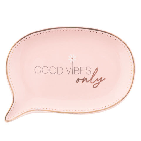 TRINKET TRAY GOOD VIBES ONLY (S20)