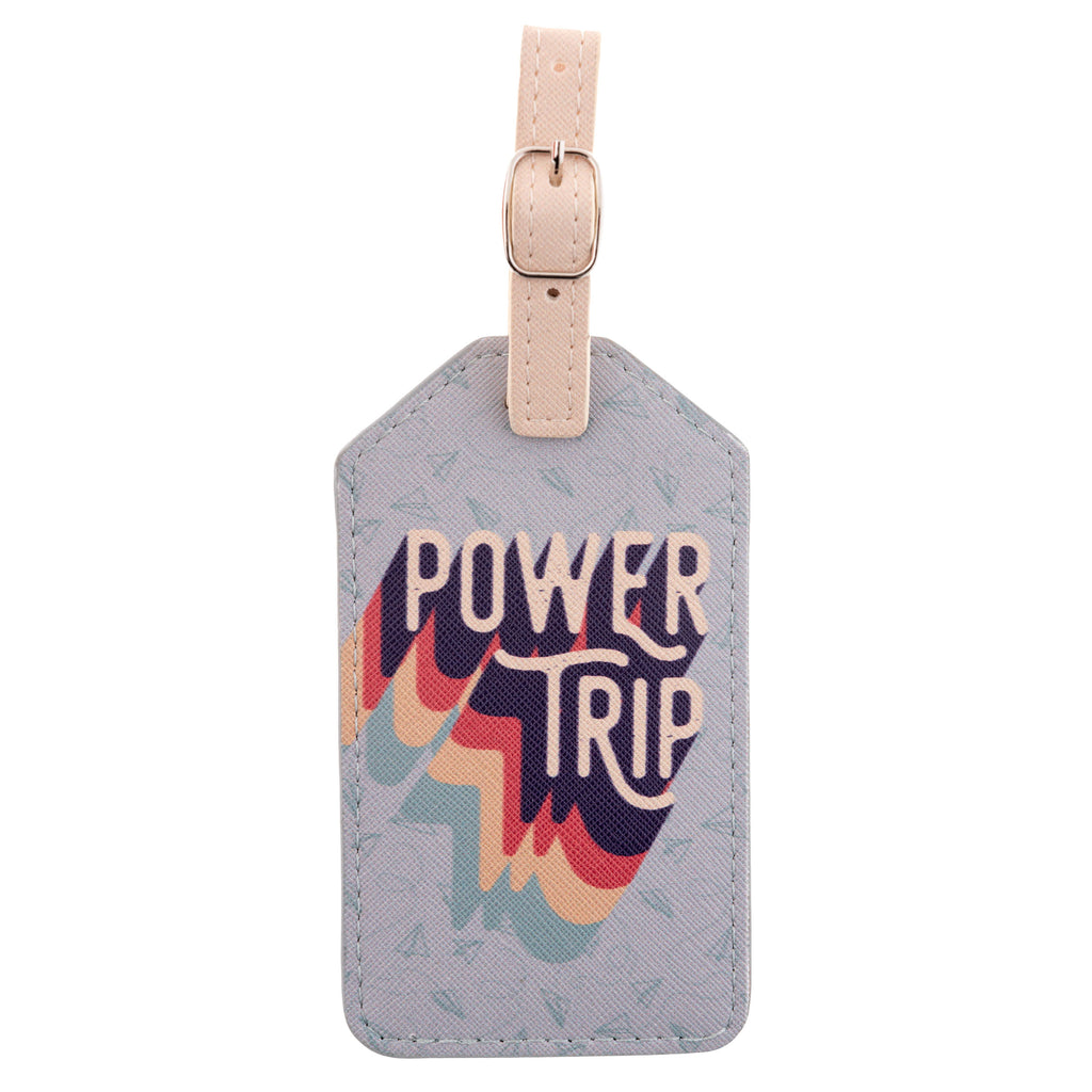 LUGGAGE TAG POWER TRIP (S20)