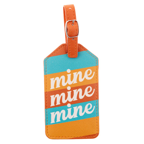 LUGGAGE TAG MINE MINE MINE (S20)