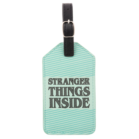 LUGGAGE TAG STRANGER THINGS INSIDE (S20)