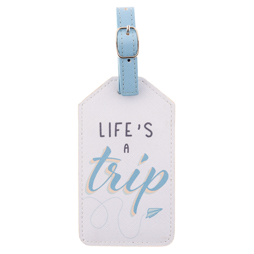 LUGGAGE TAG LIFE'S A TRIP (S20)