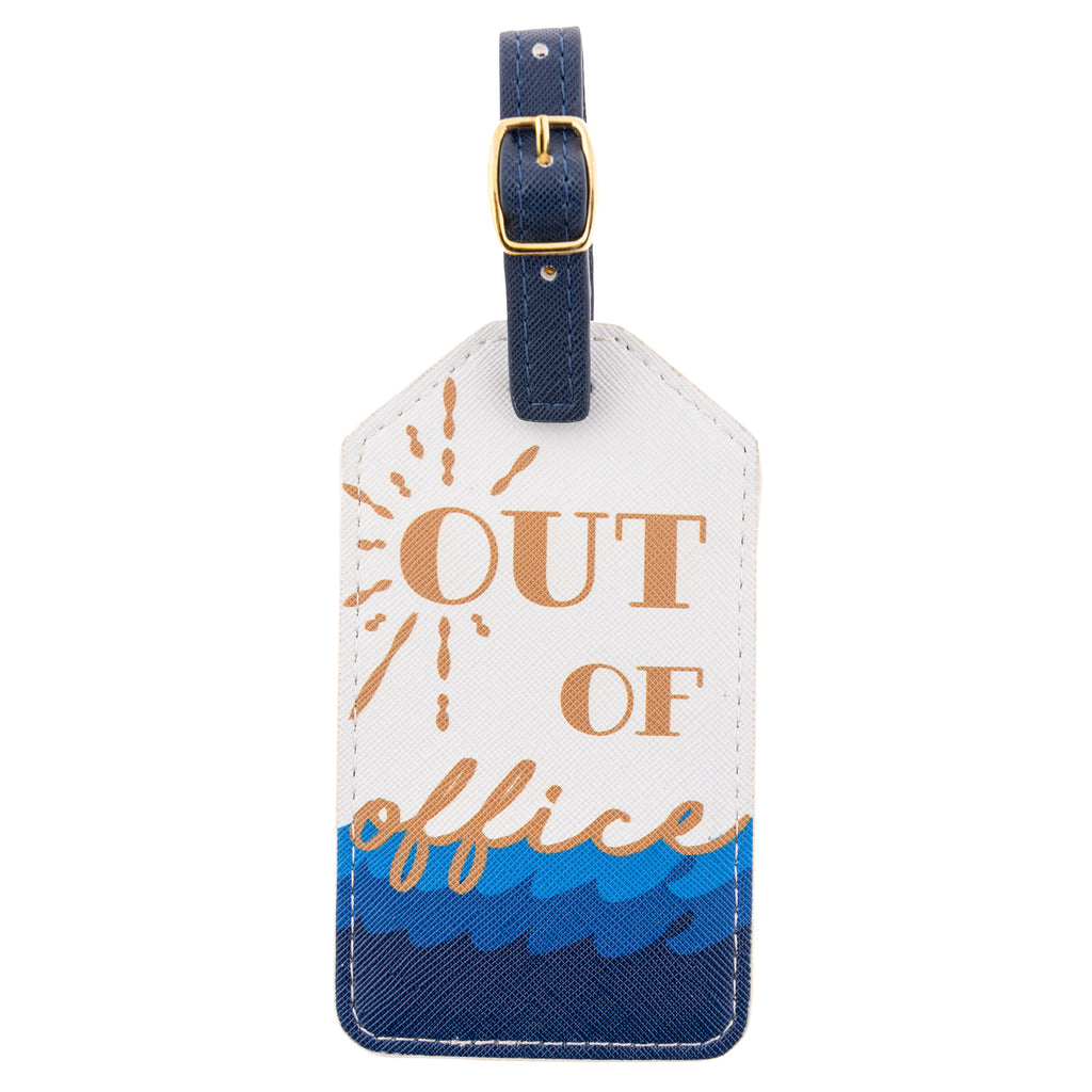 LUGGAGE TAG OUT OF OFFICE (S20)