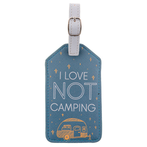 LUGGAGE TAG NOT CAMPING (S20)