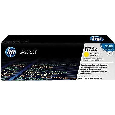 HP 824A (CB382A) Color LaserJet CM6030 MFP CM6040 MFP CP6015 Yellow Original LaserJet Toner Cartridge (21000 Yield)