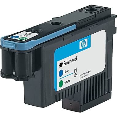 HP 70 (C9408A) Blue/Green Printhead