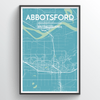 Abbotsford Map Art