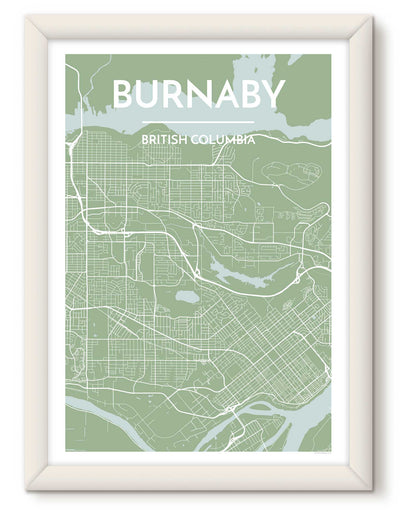 Burnaby City Map