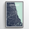 Chicago Map Art