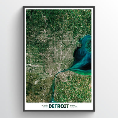 Detroit - Earth Photography
