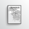 Los Angeles Map Art