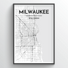 Milwaukee City Map
