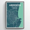 Aberdeen Map Art