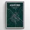 Ashford Map Art