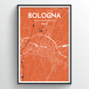 Bologna City Map