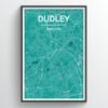 Dudley Map Art