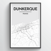 Dunkerque City Map