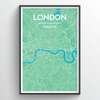 London Map Art