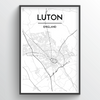 Luton Map Art