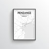 Penzance City Map