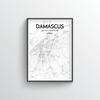 Damascus City Map