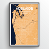 Adelaide Map Art